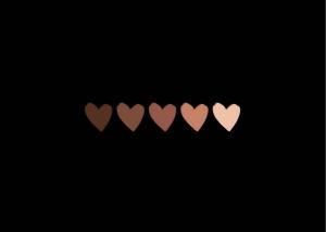 black lives matter hearts