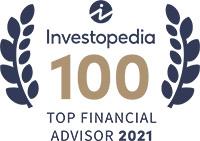 Investopedia 100 top Financial Advisor 2021